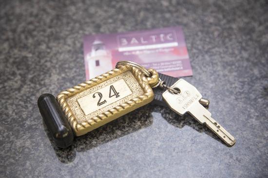Hotel Baltic: Chiave camera