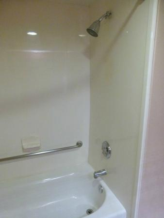 BEST WESTERN Lanai Garden Inn & Suites: Very clean shower, good water pressure.