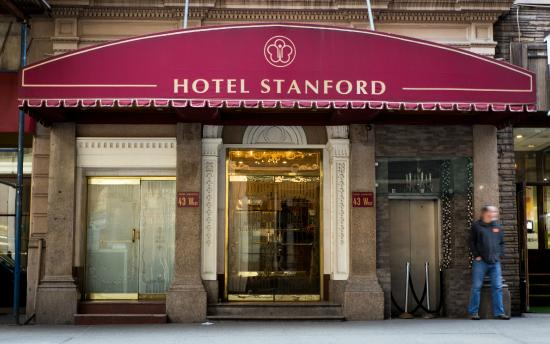 Hotel Stanford: Hotel Front