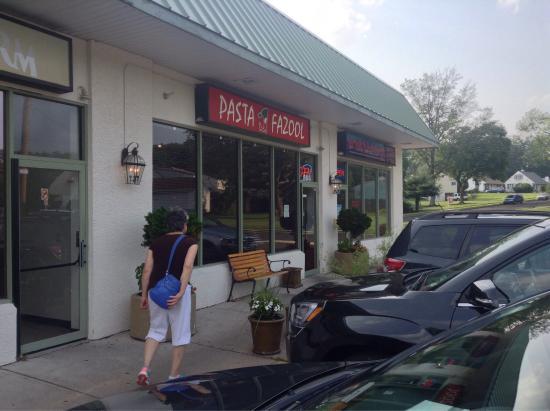 Pasta Fazool: The entrance