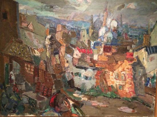 """Musée d'Art et d'Histoire du Judaïsme : Michel Kikoine """"Acre"""""""