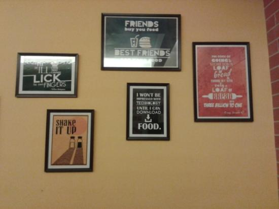 brick house bristo wall frames with food quotes picture of the
