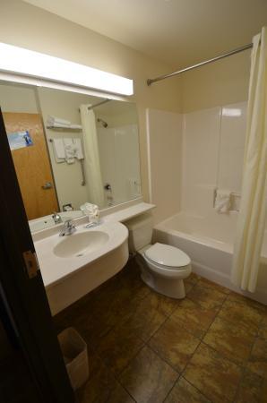 Microtel Inn & Suites by Wyndham Cheyenne: La salle de bain