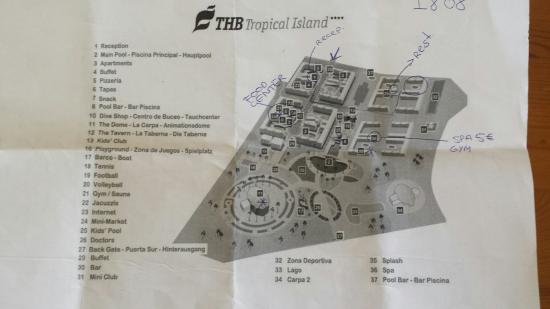 Map Of Thb Tropical Island
