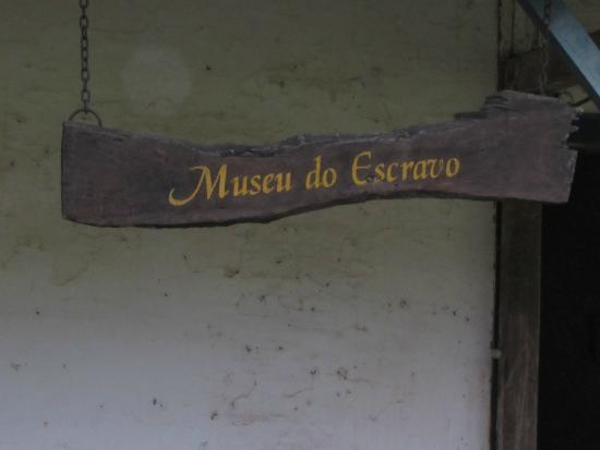 Barra do Pirai, RJ: Museu do Escravo