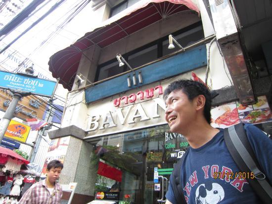 Bavana Hotel: Facade of the hotel