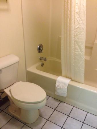 Baymont Inn & Suites Warner Robins: Bathroom