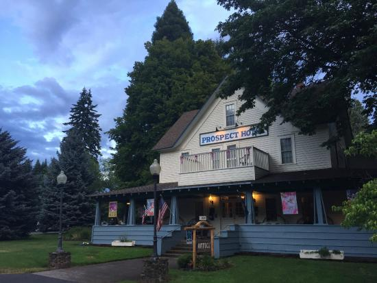 Prospect Historic Hotel Motel And Dinner House Beautiful Exterior Of