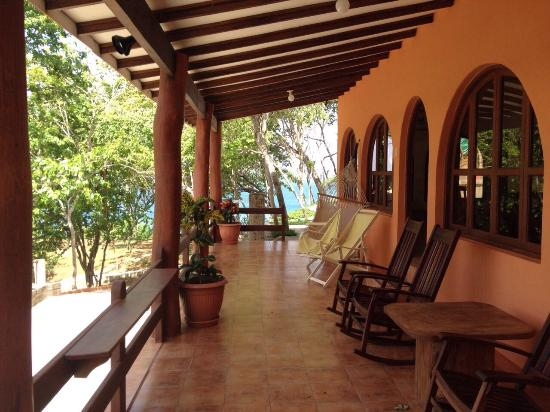 Villas Playa Maderas: The Porch/patio/hammocks Area. Thatu0027s Where You Drink