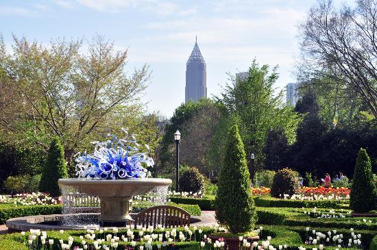 Storza Woods Canopy Walk Picture Of Atlanta Botanical Garden Atlanta Tripadvisor