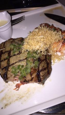 Yellowtail Restaurant & Lounge: The first bite into your steak and you know this isn't your average dish.
