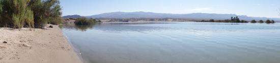 Cottonwood Cove, NV: flat calm