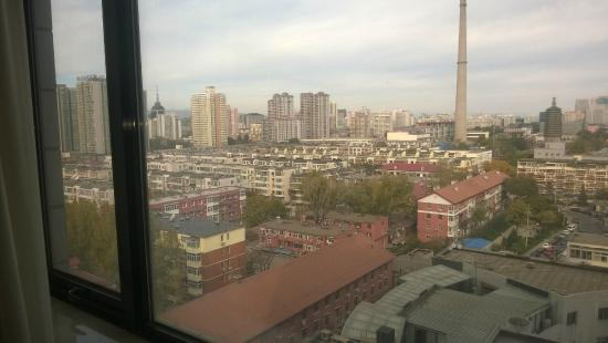 Shenzhen Hotel: View from room not cool