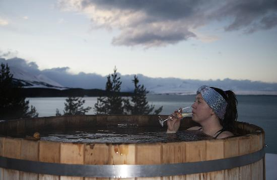 Twizel, Nueva Zelanda: Hot tub