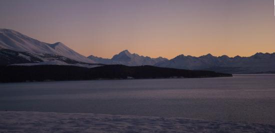 Twizel, New Zealand: Sunrise