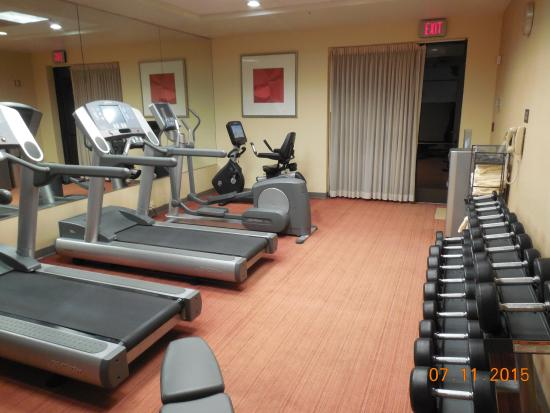 fitness center picture of hyatt place atlanta buckhead. Black Bedroom Furniture Sets. Home Design Ideas