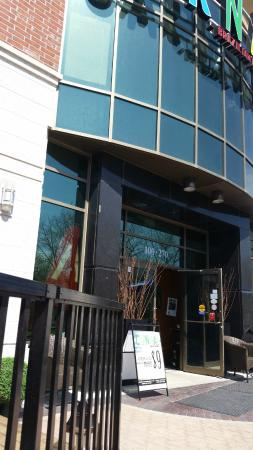 Front of the building, Carnaval Brazilian BBQ  |  270 Water Front Drive, Winnipeg, Manitoba, Can