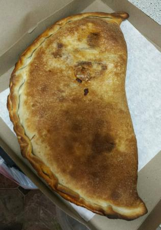 Richmond Hill, NY: Meatball calzone..the best there is!