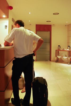 Hotel Galaxias : Reception