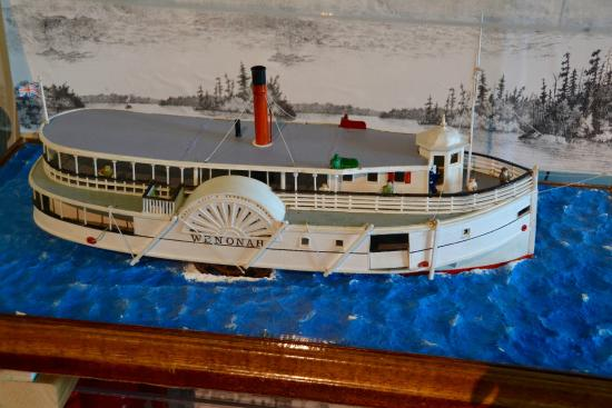 Muskoka Steamships and Discovery Centre: Model of the Wenonah