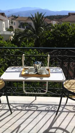 Hotel Galaxidi: morning tea