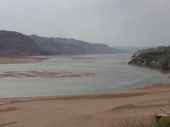 Lin County, Chine : Interesting area around the yellow river.