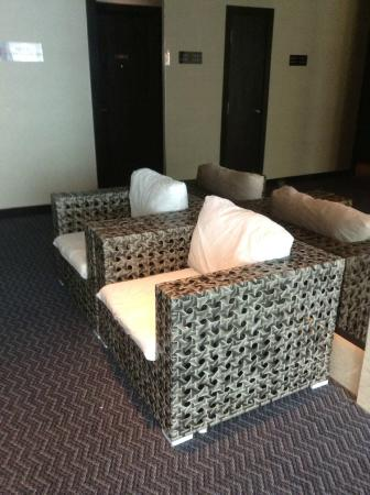 Ksl Hotel Resort Sofa Near The Lift Of Made From Recycle