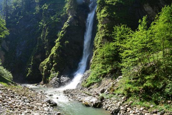 Liechtensteinklamm: cascata