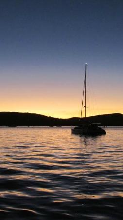 Sundowner Sunset Cruises: Lovely sunset