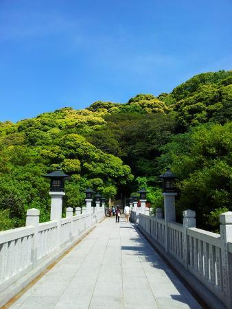Ieshima: 神社の景色