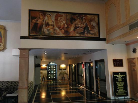 Shree Ram International : View of the lobby