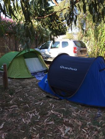 Camping International : Emplacement des tentes