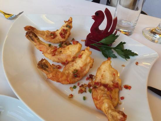 Xiang Gong Chinese Restaurant: Lovely prawn starter