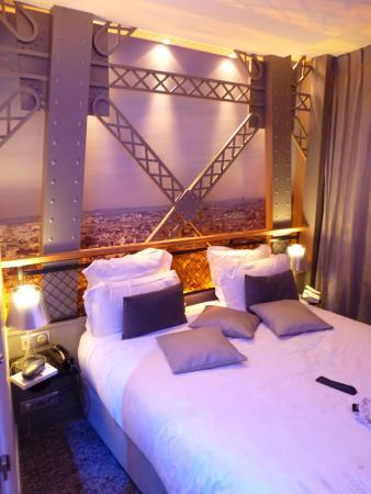 The Eiffel Tower Room Picture Of Hotel Design Secret De Paris
