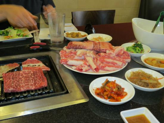 Ginseng Korean BBQ & Tofu House: Korean BBQ Combo for two