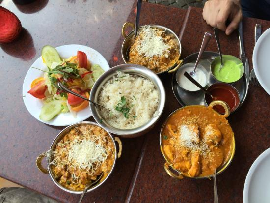 Amrit Restaurant : Hauptgang