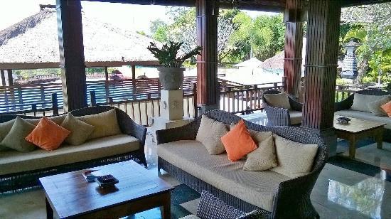 Bali Masari Villas & Spa: Empfangsbereich