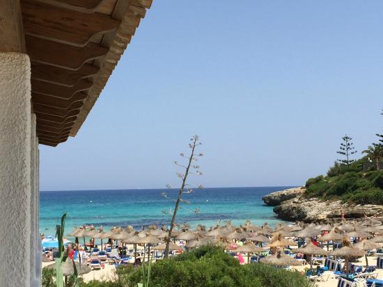 Cala Mandia Restaurant: La vista dal tavolo