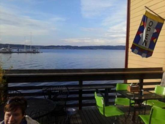 Mosquito Fleet Chili: View from the Patio Dining Area
