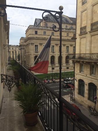 Hotel Majestic : balcony