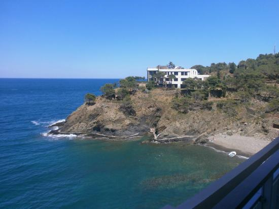 Hotel La Vigie: vue de la terrasse