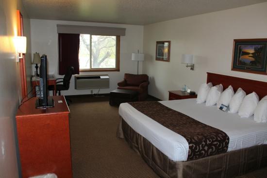 BEST WESTERN Inn at Sundance: BIG ROOM