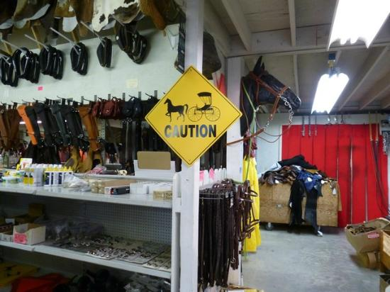 Monterey, TN: Leather shop