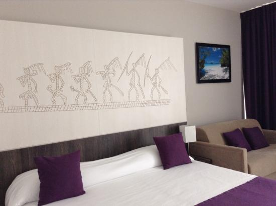 Hotel Beaurivage: top room