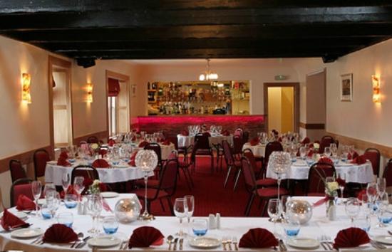 Elphinstone Hotel: Set up for Wedding