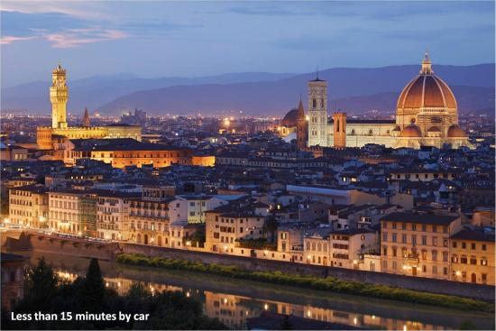 Le Civette Country Resort: Easy and fast access to Florence City Centre