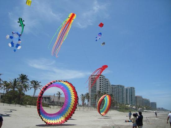 Cometas Gigantes Playa Revolcadero