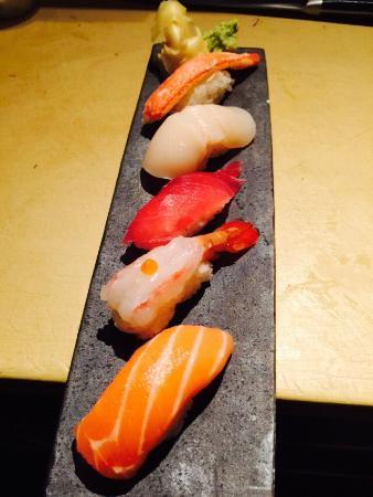 Umi Sushi & Sake Bar : Fresh Sushi#communal table#@ Delano South Beach