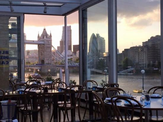 The view picture of blueprint cafe london tripadvisor blueprint cafe the view malvernweather Image collections
