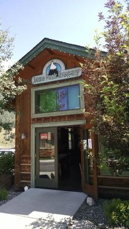 Lone Peak Brewery: Main Entrance